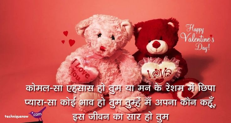 Happy Valentine Day SMS in Hindi for Girlfriend / Boyfriend - Get Happy Valentines Day SMS in Hindi, valentines day hindi messages, hindi wallpaper....