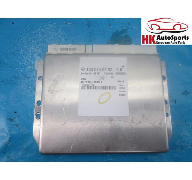 00 MERCEDES ML320 ML430 W163 ABS COMPUTER ANTILOCK BRAKE 1635454232 1635455832