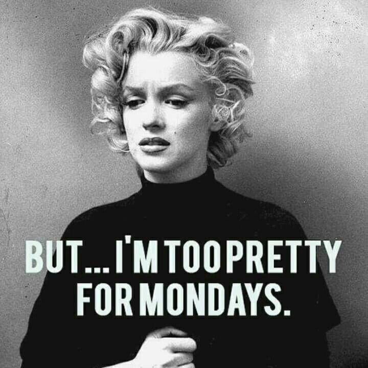Hahaha, yes - Monday feels ! ★