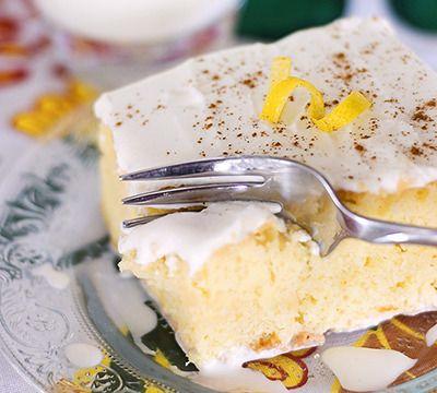 Tres leches - Ce gâteau glacé à la crème, traditionnel du Costa Rica, est un pur délice.
