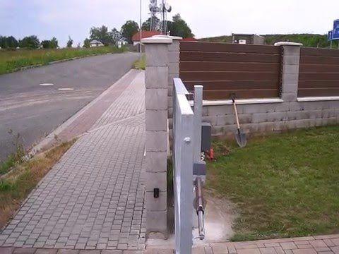 Samonosná brána s křídlem - YouTube