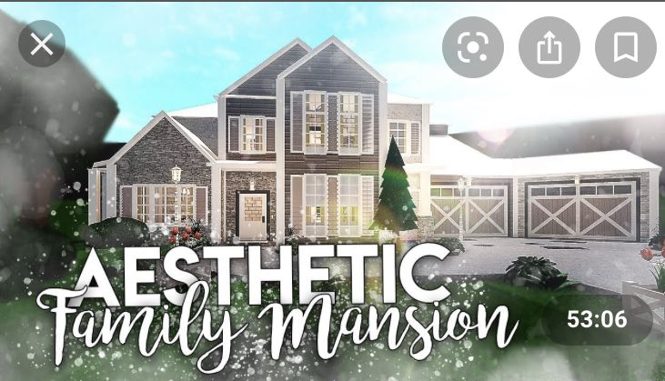 Aesthetic Bloxburg House In 2020 House Layouts Mansions Homes Building A House