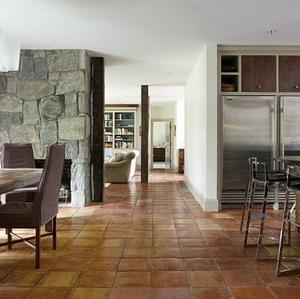 Choosing Fieldstone Tile for Interior Walls - stone is very elegant giving texture to, what would be plain, walls.