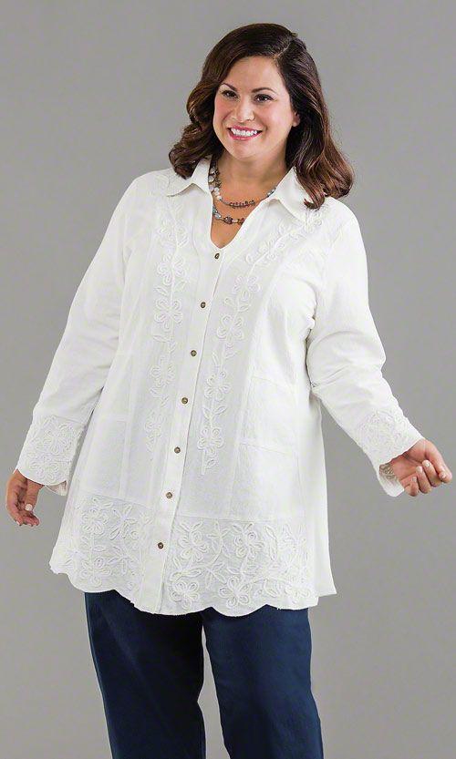 Dartmouth Blouse / MiB Plus Size Fashion for Women / Winter Fashion / http://www.makingitbig.com/product/5030