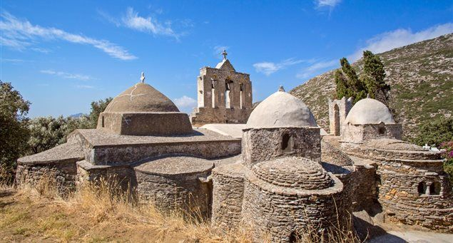 The Church of Panagia Drossiani | Naxos.gr