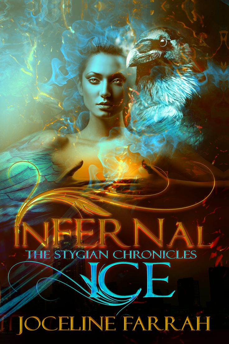 COVER RE-REVEAL - Infernal Ice by Joceline Farrah - #Erotica, #Paranormal #Romance, Xpresso Book Tours  (February)
