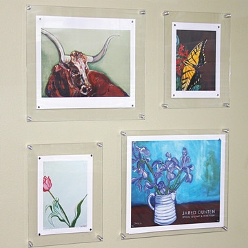 14 best Standoffs (pegs) images on Pinterest | Acrylic frames ...