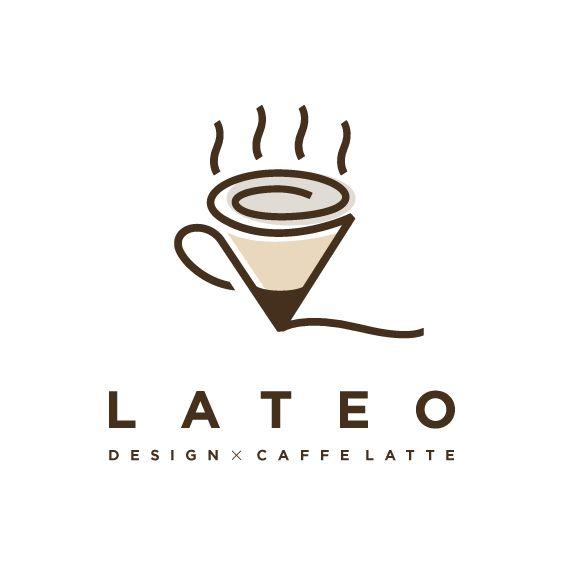 lateo logo design ラテお ロゴデザイン アイデアを生み出す鉛筆、ラテおの好きなカフェラテを組み合わせたロゴデザインです。温かみのあるデザインにしてます。