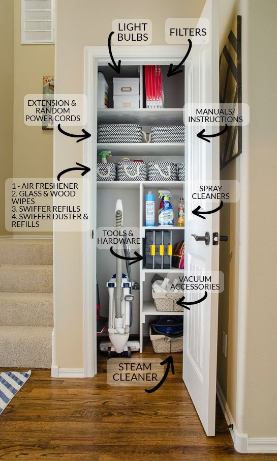 Best 25 cleaning closet ideas on pinterest ikea closet - Best storage ideas for small bedrooms ...