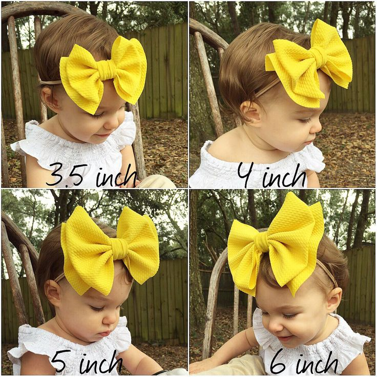 SKINNY 5 Pieces WHOLESALE elastic baby nylon headbands one size fits all