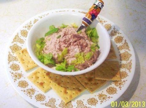 CREAMY BRAUNSCHWEIGER DIP..(LIVER SAUSAGE) Recipe