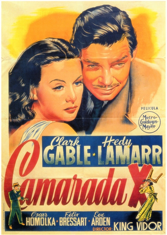 COMRADE X (1940) - Clark Gable & Hedy Lamarr - Directed by King Vidor