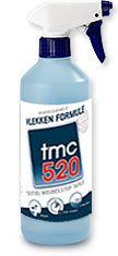 TMC 520 vlekken formule verwijdert eenvoudig en effectief vlekken uit alle textiele stoffen materialen.