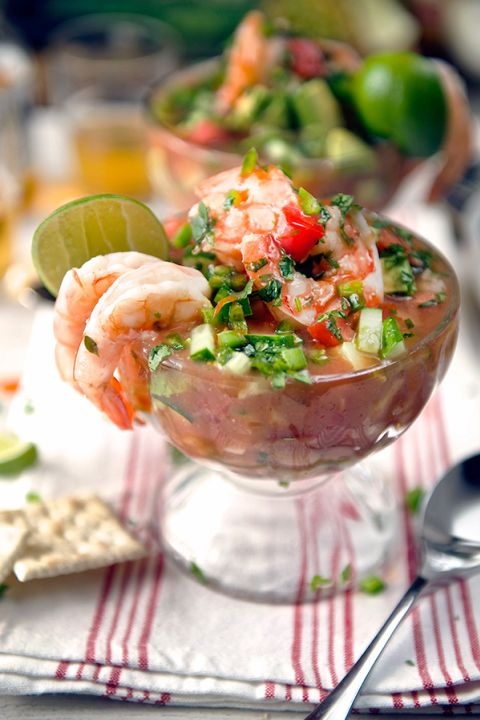Mexican Shrimp Cocktail - best recipe I've found so far