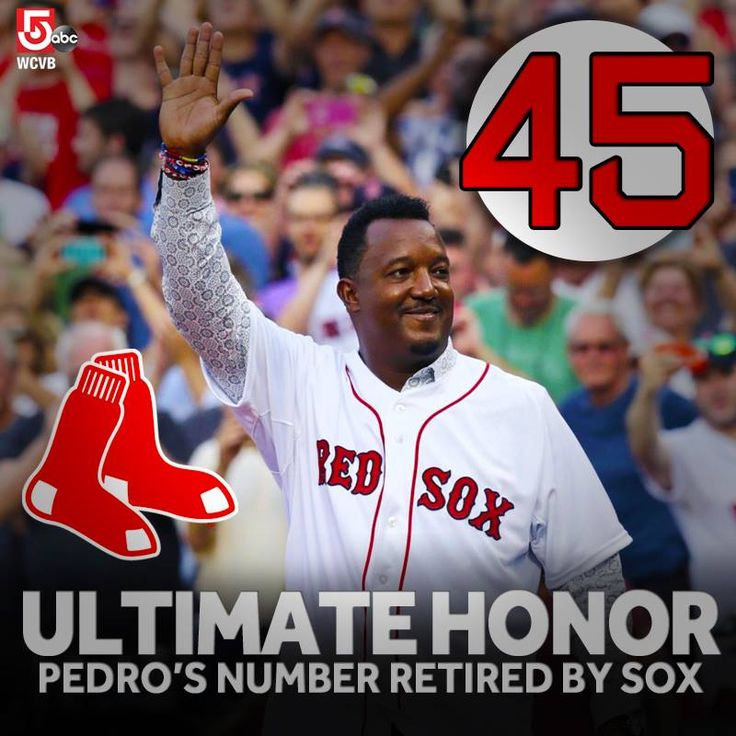 It's the ultimate honor from the Boston Red Sox for Hall-of-Fame pitcher Pedro Martinez. His number is one of a select few retired by the team: on.wcvb.com/1I03qbA