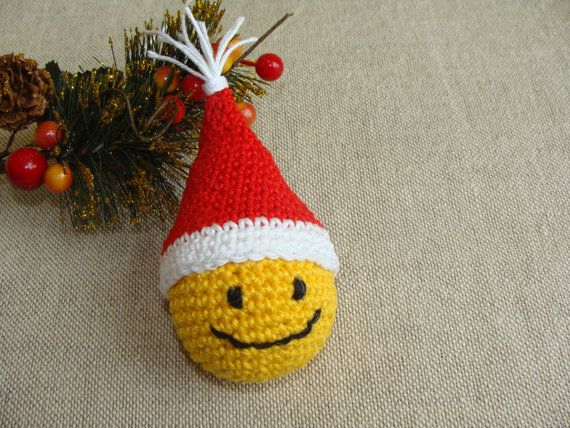 Christmas Decorations Smiley Face PATTERN, Christmas Ornaments, Christmas Tree Decor, Christmas Gifts