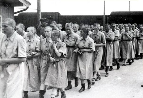 28 Dec 42: Sterilization experiments begin on women prisoners at the Auschwitz-Birkenau concentration camp. Prisoners were forced to participate; they did not willingly volunteer and there was never informed consent. Typically, the experiments resulted in death, disfigurement or permanent disability, and as such are considered as examples of medical torture. More: http://scanningwwii.com/a?d=1228&s=421228 #WWII