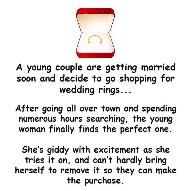 A Man Buying Wedding Ring