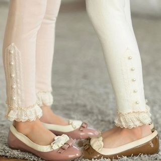 Buy Seashells Kids Kids Embellished Lace Panel Tights at YesStyle.com.au! Quality products at remarkable prices. FREE SHIPPING to Austrailia on orders over AU$ 45.