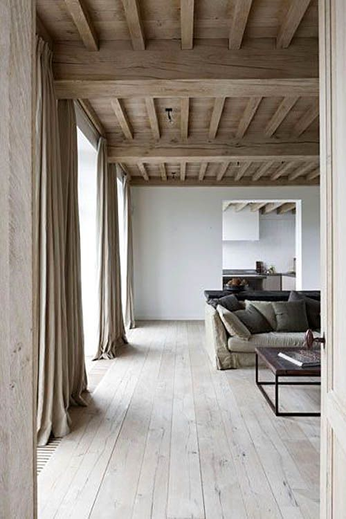 Extra muur tussen woonkamer en tussenruimte naar k…