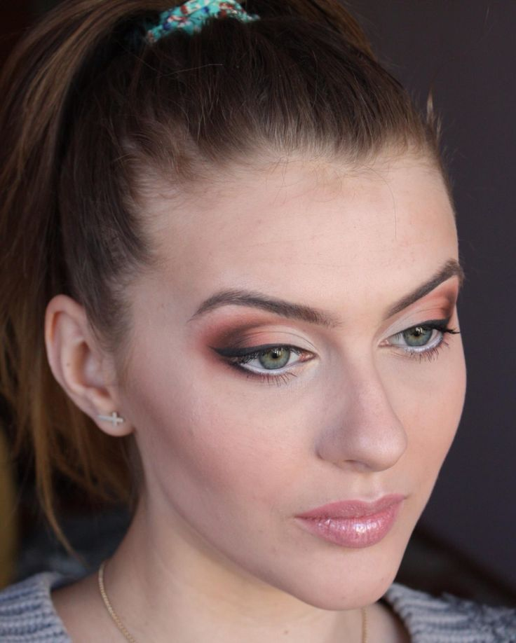 Warm eyeshadows& bridal makeup