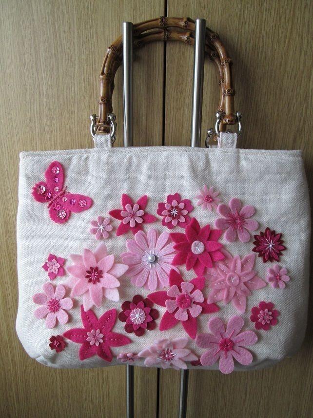 Pink Petals Handbag £35.00