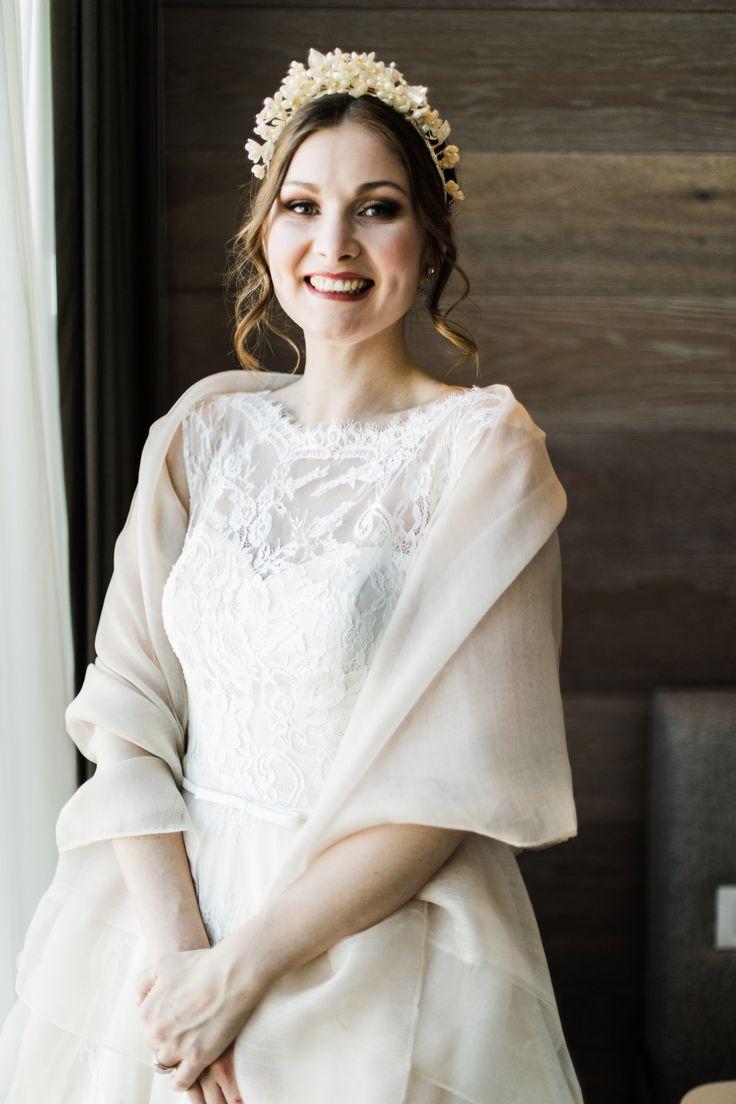 Beautiful Intimate Garden Wedding - Polka Dot Bride   Photo by https://capturedframes.com/about/