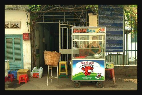 Vache qui rit au Vietnam