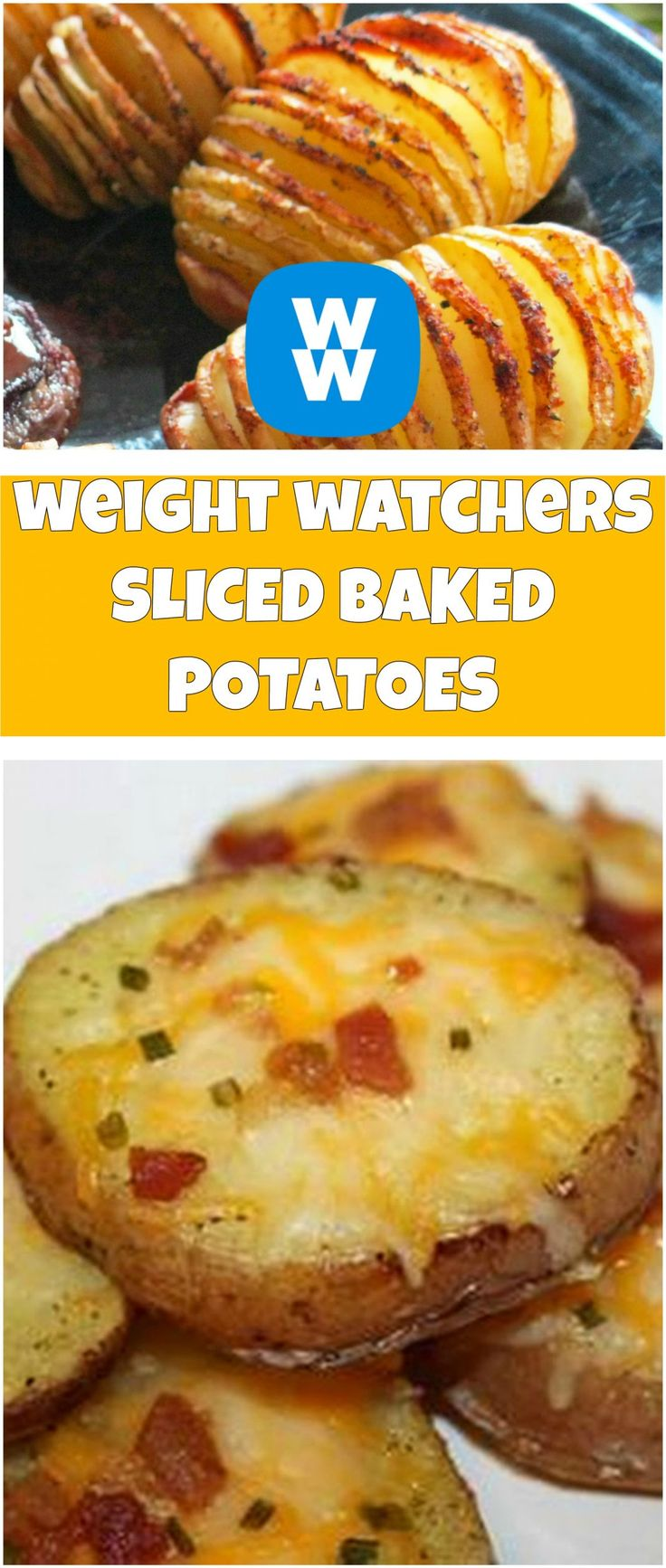 weight watchers SLICED BAKED POTATOES – Just 4 Ingredient   weight watchers cooking