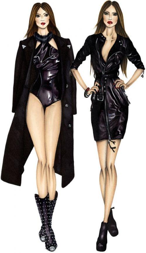 Oltre 25 fantastiche idee su figure di moda su pinterest for Corso di fashion design
