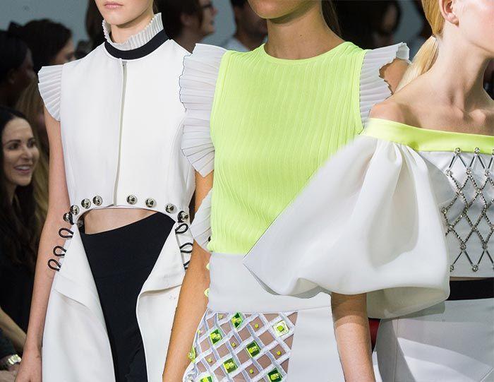 David Koma Spring/ Summer 2017 Collection - London Fashion Week  #runway #fashionweek