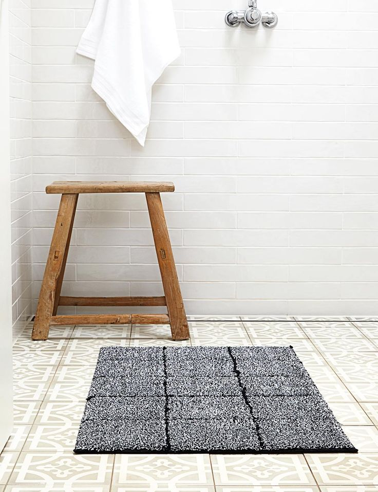 Abode Living - Bathroom - Bath Mats - Lino Linen Rug - Abode Living