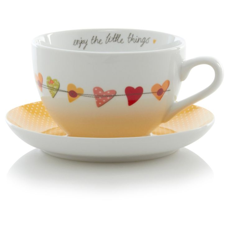 George Home Prince's Trust Breakfast Cup and Saucer