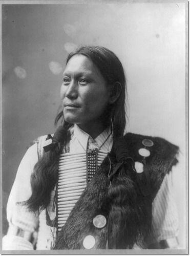 Sunflower, Native American, indian, culture, beautiful, portrait, posing, portrait, vintage, picture, photo b/w.