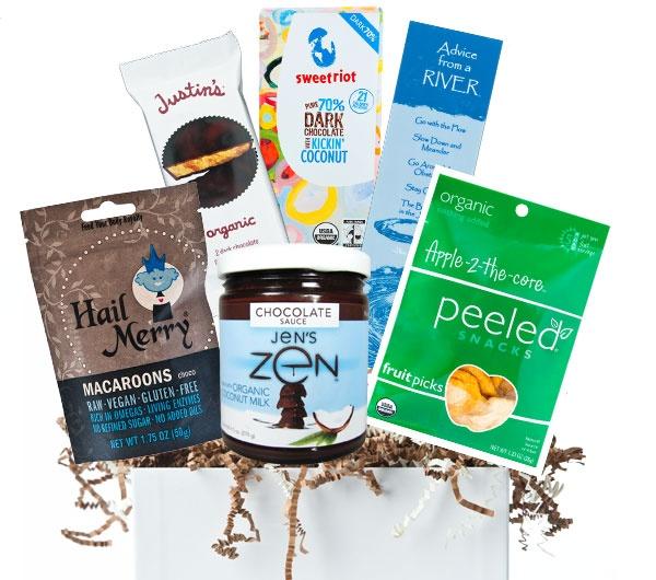 Wedding Gift Ideas Vegan : organic vegan gift basket via @Erica Cerulo Raymonds Best Organics # ...