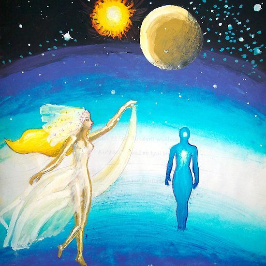 A painting about cosmic marriage