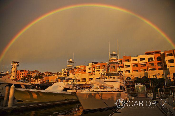 Rainbow in Baja