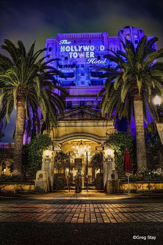 The Twilight Zone Tower of Terror DCA by GregStayPhotography