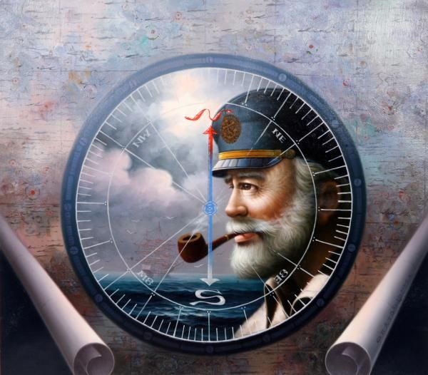 Sea Captain art