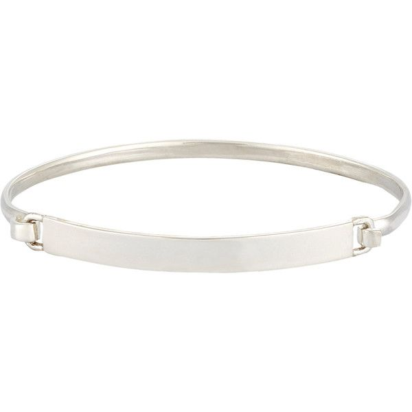 Loren Stewart Men's ID Bracelet (395 BRL) ❤ liked on Polyvore featuring men's fashion, men's jewelry, men's bracelets, silver, mens id bracelet, mens bracelets and mens watches jewelry