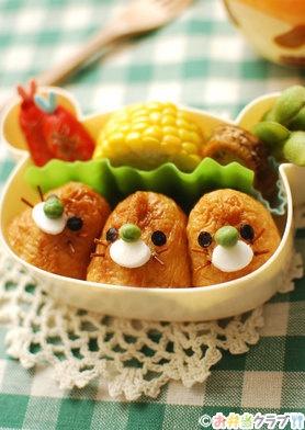 Mole Brothers Inarizushi, Sushi in Fried Tofu Porch Bento Lunch|稲荷寿司もぐら弁当