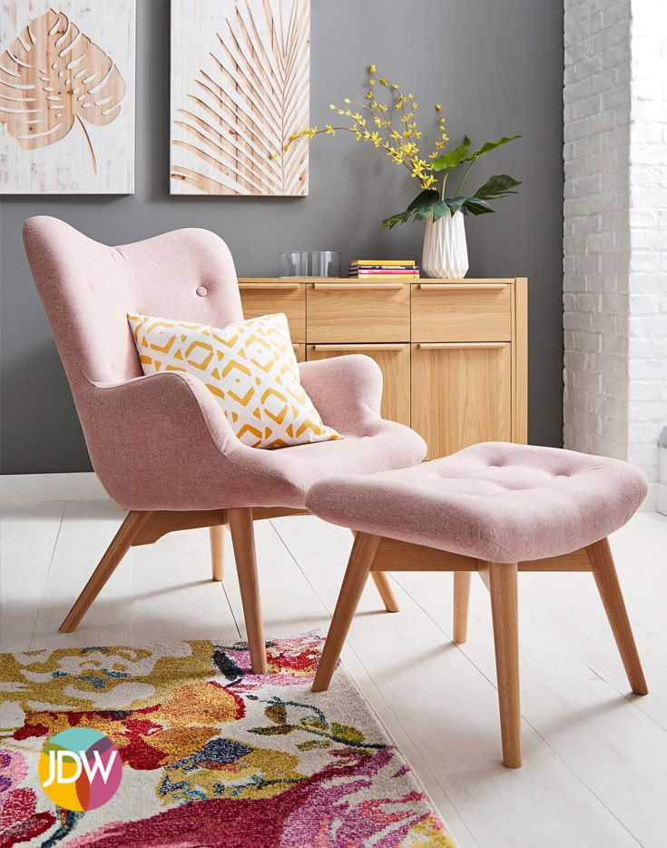 The Bergen Accent Chair Is The Perfect Stylish Accent Chair For