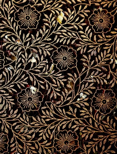 java - copper tjap to make batik patterns
