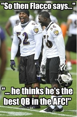 Ray Lewis Flacco Meme Sorry Flaccoyou Do Your Part But Youre No
