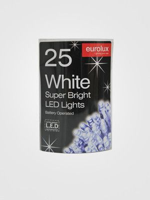 LED Fairy Lights - 3M Battery Operated Eurolux