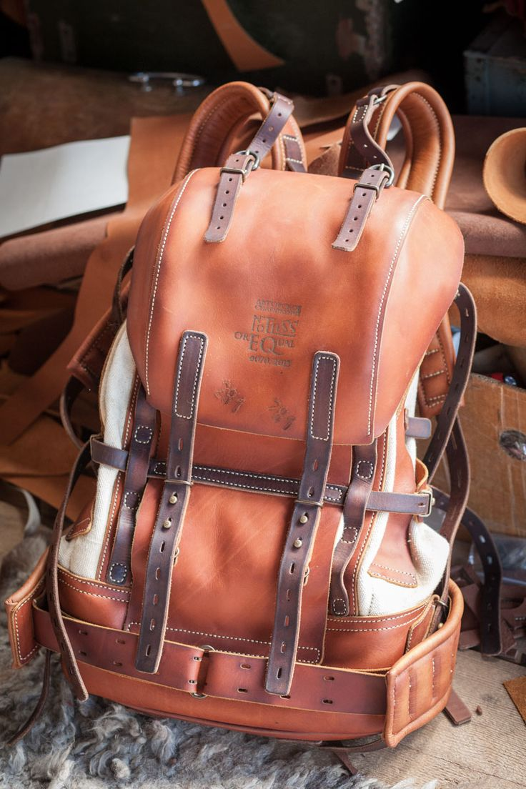 A beautiful work of art! Large backpack by NotlessOrequal