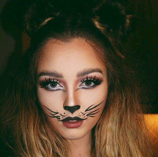 halloween makeup with zipper