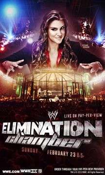 Poster: WWE Elimination Chamber 2014 @WrestlingPT #wweEC kinda peculiar, actually