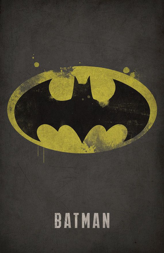 Batman Poster - The Dark Knight - Justice League