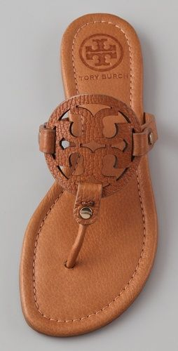 Cute! Tory Burch Leather Thong Sandal